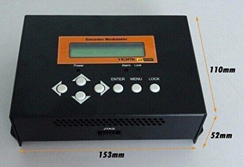 GOWE Mini-HDMI auf DVB-C Modulator, wandelt HDMI Video auf DVB-C RF Signal