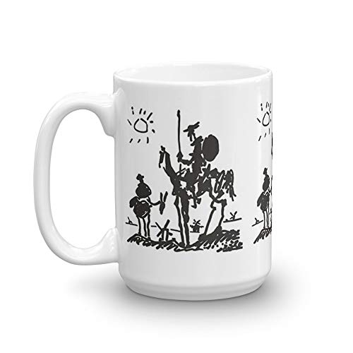 Pablo Picasso 15 Oz Mugs Made Of Durable Ceramic With An Easy Grip Handle.This Coffee Mug Has A Hefty But Classic Feel