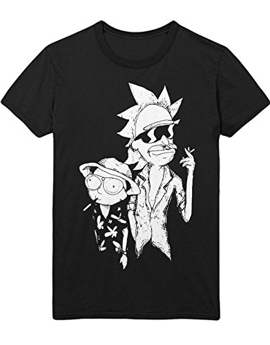 Hypeshirt T-Shirt Rick Fear and Loathing with Rick C000018 Noir L