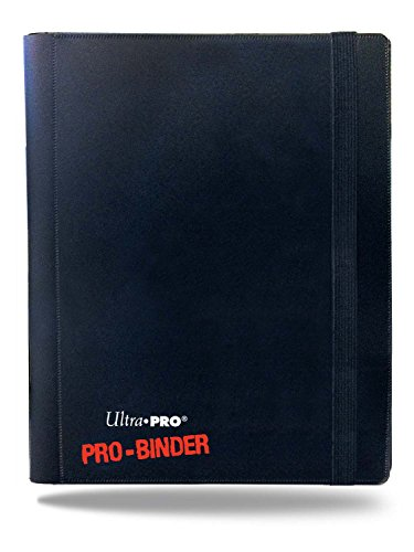 Ultra PRO 82895, 4-Pocket PRO Binder, Colore Nero