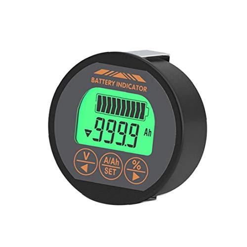 Runfon Capacidad de la batería del Metro del probador del amperímetro del voltímetro del indicador Tr16 120v 350a de Litio del Hierro de la Motocicleta Ups Plomo-ácido