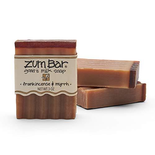 Zum Bar Goat's Milk Soap - Frankincense and Myrrh - 3 oz (3 Pack)