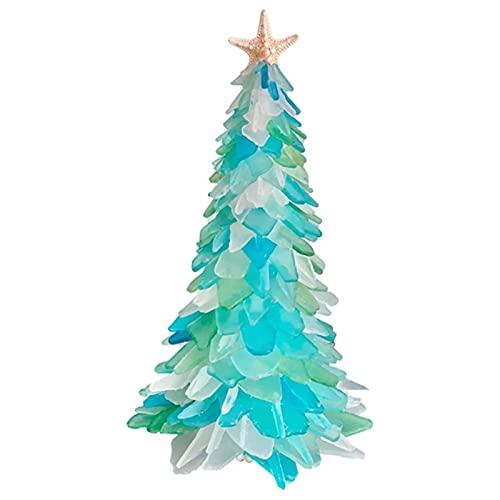 ZHOUSAN Árbol de Navidad Invierno Decoración del Hogar Rotación Escultura Decoraciones Pasta Ventana Pegatinas Decoraciones Navidad