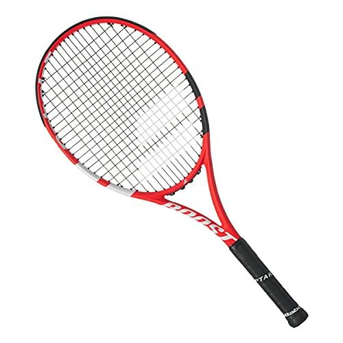BABOLAT Boost S Strung - Racchetta per adulti, unisex, colore: rosso nero, bianco, 2