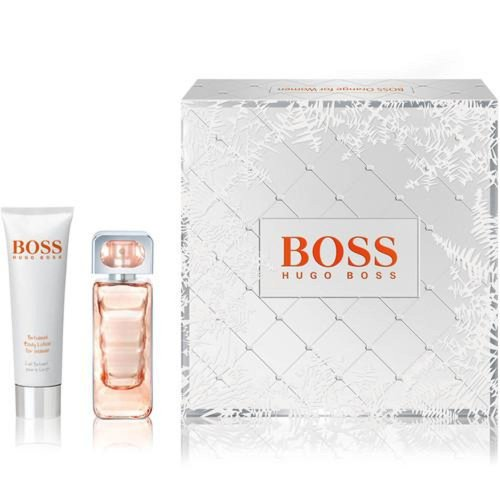 Hugo Boss Boss Orange Woman Geschenkset 30ml EDT + 100ml Body Lotion