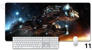 Extendido del juego alfombrilla de ratón Starcraft grande Teclado Ratón Tablero de Juego Mousepad for Ministerio del Interior impermeable antideslizante de la PC de escritorio Tabla alfombrilla de rat