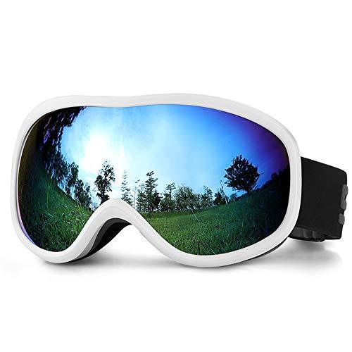 GonFan Wind-Preuve Comfortabele zandbescherming voor mannen en vrouwen, sneeuwbescherming, dubbele skibril, veiligheidsbril