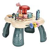 Baby Musical - Mesa de aprendizaje para niños, actividades de juego y aprendizaje para niños, juguetes educativos, regalos para niños y niñas