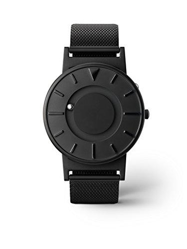 Bradley eone Black unisex Reloj - acero inoxidable de malla pulsera
