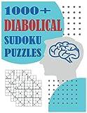 1000+ Diabolical Sudoku Puzzles: Sudoku puzzle book for adults, Sudoku Puzzles with Solutions, Sudoku Puzzles For Adults, Sodoku Books For Adults, ... Sudoku Activity Book, Sudoku With Answers