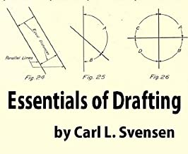 Essentials of drafting: a textbook on mechanical drawing and machine drawing, with chapters and problems on materials, stresses, machine construction and weight estimating