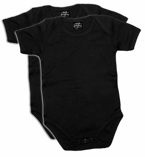 Rock Offspring Baby Bodysuit Multipack (Pack of 2) 700935 Baby Bodysuit 001 12-18months