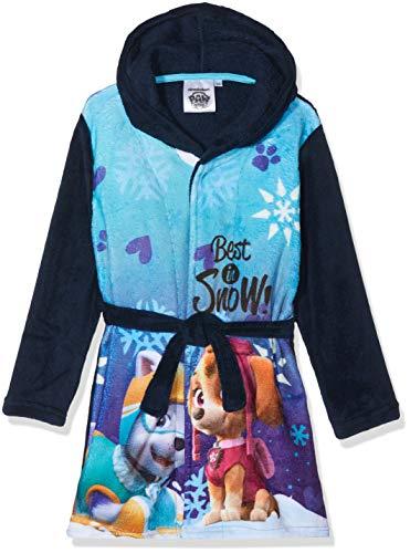 Nickelodeon Mädchen PAW Patrol Best IN Snow Bademantel, Blau (Blau 19-4024tc), 4 Jahre