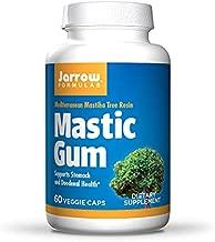 Jarrow Formulas Mastic Gum 1000 mg - 60 Veggie Caps - Natural Formula Supporting Stomach, Duodenal & Oral Health - 30 Servings