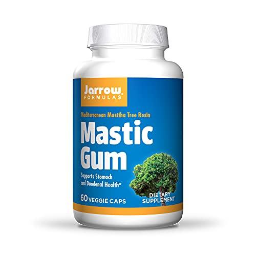 Jarrow Formulas Mastic Gum 1000 mg - 60 Veggie Caps - Natural Formula Supporting Stomach, Duodenal &...