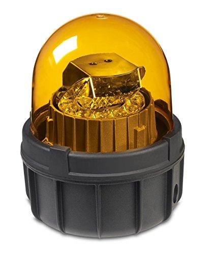 Federal Signal Warning Light, LED, Amber, 120VAC