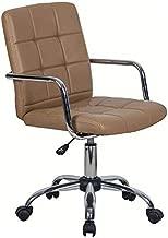 Cadeira de Escritório Secretária Fitz Marrom