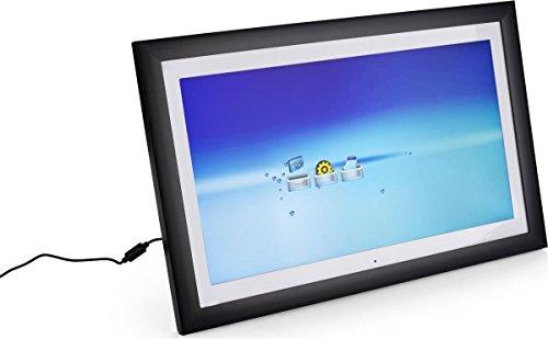 Displays2go High Definition 4GB Storage HD Digital Photo Frame, 21.5-Inch