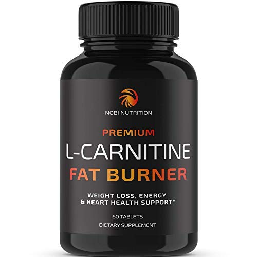 Nobi Nutrition L-Carnitine Fat Burner - Healthier Weight Loss for Women & Men - Diet Pills, Appetite Suppressant, Carb Blocker, Metabolism & Thermogenesis Booster