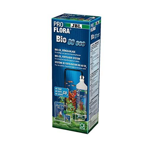 JBL ProFlora Bio80 eco 2 Bio CO2-Düngeanlage, Für Aquarien von 12-80 l, 64449
