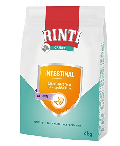 Rinti Canine Intestinal Ente Trockenfutter, 2er Pack
