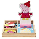 Peppa Pig Magnetic Wood Dress Up Puzzle (25...