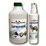 PANDACLEANER® Isopropanol/Reinigungsalkohol - 100ml Spray + 500ml - Reinigungsflüssigkeit für Haushalt, Handwerk & Industrie - Mit Zerstäuber (100ml Spray + 500ml)