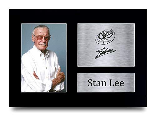 HWC Trading A4 Stan Lee Marvel Gifts gedrucktes Autogramm für TV-Show-Fans – A4