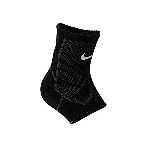Nike Advantage Knitted Ankle Sleeve Black/Anthracite/White Size Large