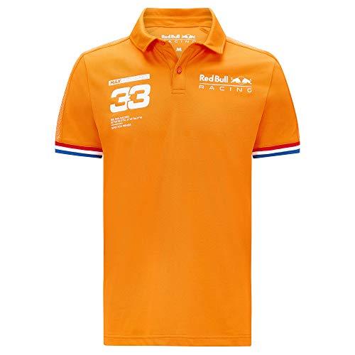 Red Bull Racing Polo Max Verstappen - Orange - Orange - X-Small