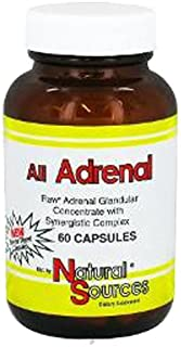 Natural Sources All Adrenal Capsules, 60 Count