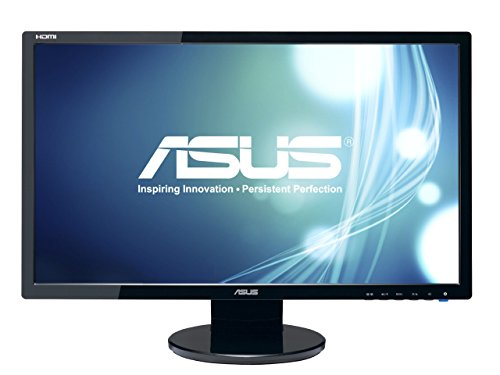 ASUS VE248H 24in Full HD 1920x1080 2ms HDMI DVI VGA Back-lit LED Monitor (Renewed)