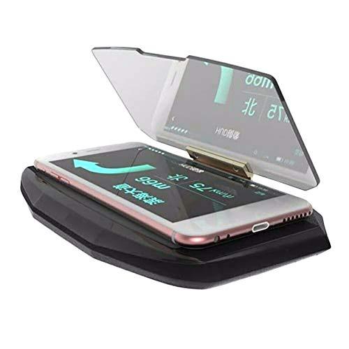 Aemiy Head-up-Display Handy-Navigationshalter Anti-Rutsch-Halterung für das Autofahren