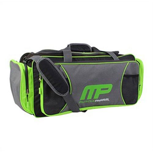 Prometeus Musclepharm Sports Duffel Bag, 60 cm, 30 Liters, Black/Green