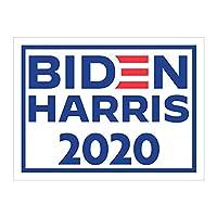 2020年選挙キャンペーンのためのバイデンの大規模なハリスヤードサイン  Joe Biden社長、Truth Over Lies Lawn Sign w/Metal Stake-Water Grounding H-frame Stake Sign