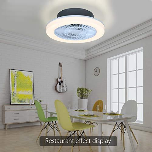 Mille Lucciole Ventiladores para el techo con lámpara
