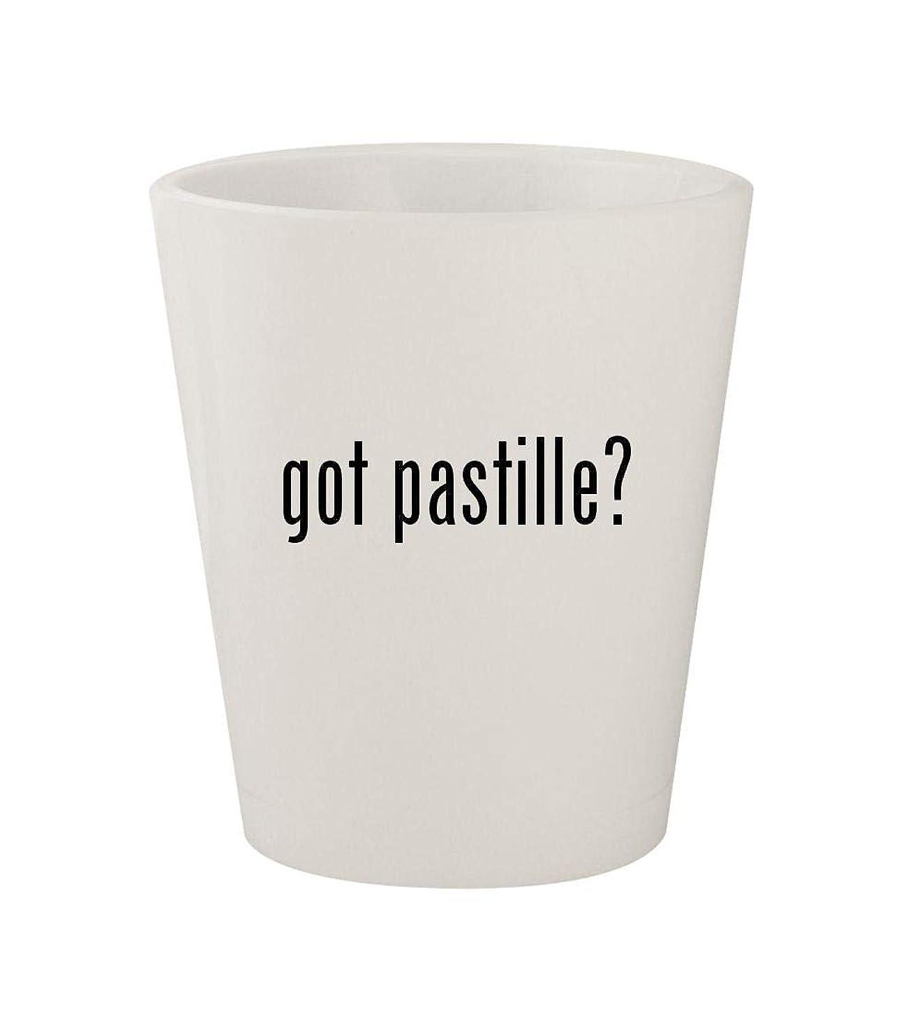 got pastille? - Ceramic White 1.5oz Shot Glass