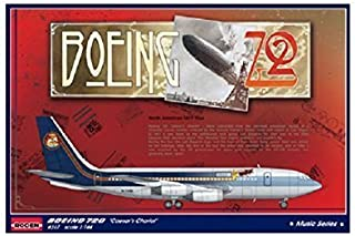 Roden 1/144 Boeing 720 Caesar's Chariot used by Led Zeppelin # 317 by Roden