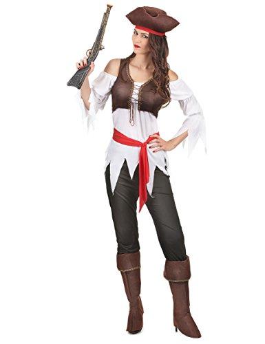 Déguisement pirate femme Taille M