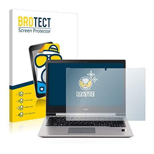 BROTECT Entspiegelungs-Schutzfolie kompatibel mit Fujitsu Lifebook U745 Bildschirmschutz-Folie Matt, Anti-Reflex, Anti-Fingerprint