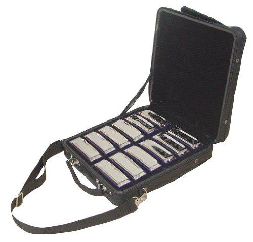 Johnson BK-520-SET Blues King Harmonica Set