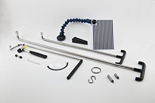 MAGNETISCHE ROLLERSPITZENTECHNOLOGIE - PDR Standard-Satz. Ausbeulen, Dellen, Hagel, Karosseriebau Werkzeuge, lernen PDR, PDR