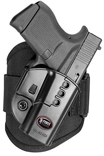 Fobus Ankle Evolution Glock 43, RH (GL43NDA)
