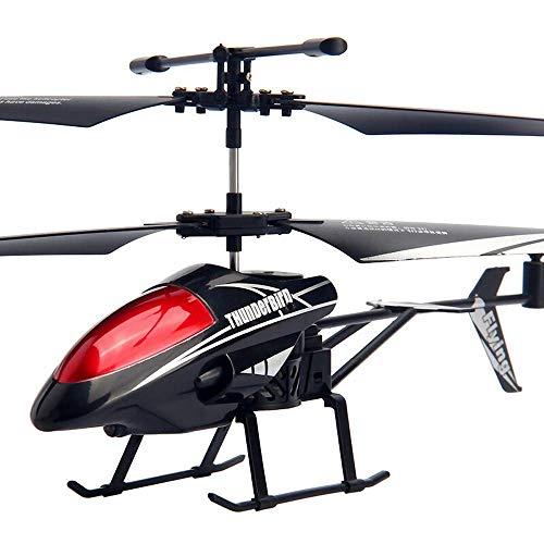 FYRMMD RC Helicóptero Drone, Nuevo Mini RC 3.5CH Mini RC Radio Avión Control Remoto Avión Avión Juguete Desteledirigido (coche de control remoto)