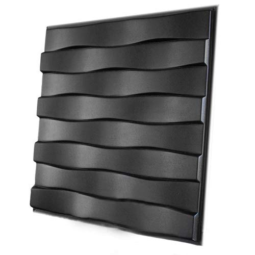 Plastic Mold Form for Wall 3D Decor Panel'Parallel' Wall Mold for Gypsum or Concrete