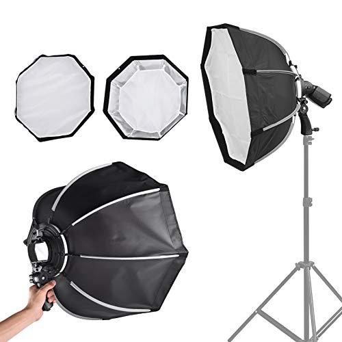DAUERHAFT con 1 Bolsa portátil Flash Umbrella Soft Box Kit de iluminación fotográfica Buena compatibilidad, para luz Superior, para Varios Flashes
