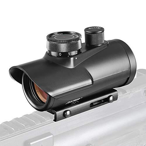 ACEXIER Red Dot Sight 1X30mm Zielfernrohr Holographische 11mm & 20mm Weberschienenhalterung für Taktische Jagdoptik 5-0040