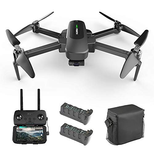 Hubsan Zino Pro 4K Drone UHD Camera 3-Axis Gimbal FPV RC Quadcopter with Carrying Bag, 5G WiFi Transmission Brushless Motor GPS Return to Home Foldable Arm RTF
