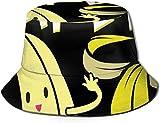 BONRI Sombrero de Cubo con Estampado de Plantas de Selva Tropical Verde, Gorra de Pesca para Pescador, para Viajes de Mujer