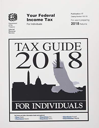 Tax Guide 2018 for Individuals: Publication 17